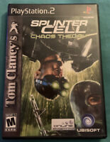 Tom Clancy's Splinter Cell: Chaos Theory (Sony PlayStation 2) GREAT CONDITION