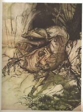 Arthur Rackham illus Ring of the Niblung Wagner trans Armour