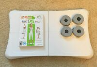Wii Fit Plus Game with Wii Balance Board and Risers For Nintendo Wii - RVL-021