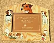Maple Lane Press Jack Russell Terrier wooden photo picture frame