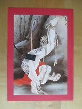 Bondage-Sklavin-Erotik-Japan - Nr.7811-R - DIN A4