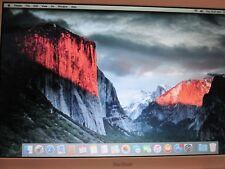 Apple MacBook mid 2009 Good, El Capitan 2.13 2 GB Ram 160GB bat/charger/case