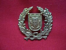 PORTUGAL PORTUGUESE OBSOLETE ARMY MILITARY FLAG QUINAS BADGE 33mm