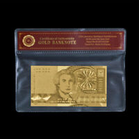 WR Gold Croatia 10000 Dinars Banknote World Money Bill For Collection Gift