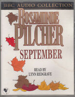 Rosamunde Pilcher September 2 Cassette Audio Book Abridged Romance FASTPOST