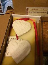 Longaberger Be My Valentine Scented Hearts Set