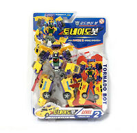ROAD TORNADO BOT Car Robot Toy Transformer Character Children Kids Gift