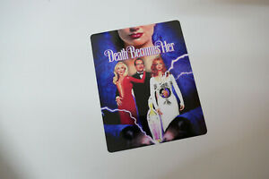 DEATH BECOMES HER - Glossy Steelbook Magnet Cover (NOT LENTICULAR)