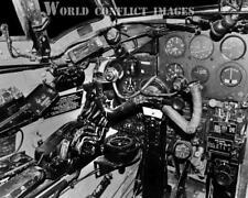 RAF WW2 DeHavilland Mosquito Bomber Cockpit Left Panel #2 8x10 Photo WWII
