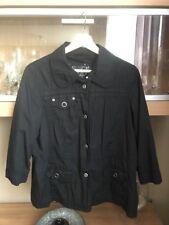 Cecil leichte Jacke in schwarz mit 3/4 Arm Gr. L