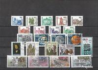 DDR gestempelt 1990 Deutsche Post kompletter Jahrgang in sauberer Erhaltung