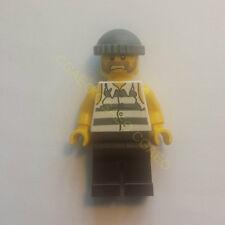1 X  Lego cty266   Police - Jail Prisoner Shirt with Prison Stripes