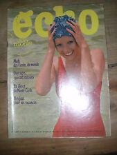Echo de la mode N° 28 1971 Patron Mode vintage Couture Robe Tricot Enfant 70'