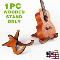 Wooden Guitar Stand Bracket Holder Shelf Mount For Ukulele Violin Mandolin Parts
