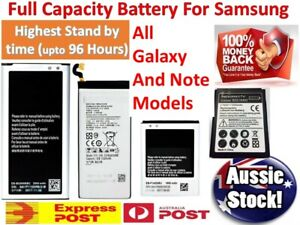 Battery Replacement for Samsung Galaxy Note 5 6 7 8 9 S10 S10+ S10e S9 S8 S7 S6
