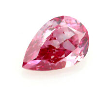 Pink Diamond - 0.22ct ARGYLE Natural Loose Fancy Vivid Pink Color GIA Pear