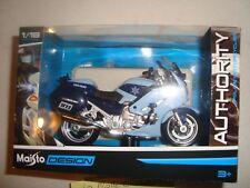MINIATURE MOTO MAISTO MAIS39056 YAMAHA FJR 1300 A STATE POLICE 1/18