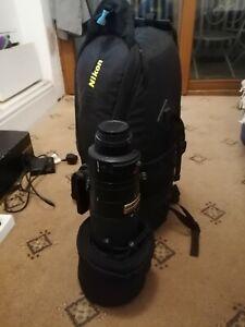 Nikon Nikkor 200-400 f/4 G AF-S ED VR