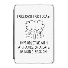 "Forecast for Today Case Cover for Kindle 6"" E-reader - Funny Weather Joke"