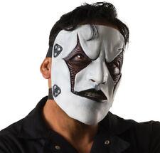 Morris Costumes Adult Slipknot Jim Mask Black White One Size. RU68677