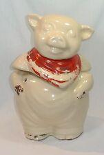 Vintage SHAWNEE Pottery SMILEY the PIG Cookie Jar
