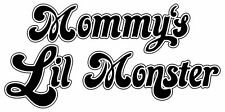 Mommy's Lil Monster Iron On Transfer For T-Shirt & Other Light Color Fabrics #24