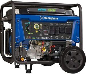 Westinghouse WGen9500DFc Portable Dual Fuel Remote Start Generator w/ CO Sensor