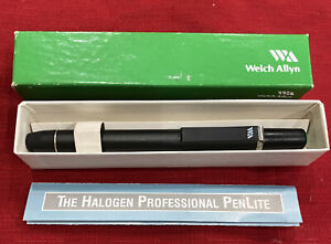 Welch Allyn 76600 Halogen Professional PenLite Boxed- Never Used
