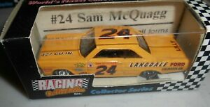 Sam McQuagg #24 1965 Ford Galaxie 1/64 scale RCCA RCI Collector Series