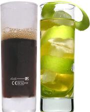36 Mischgetränke Longdrink Gläser Bacardi Cola Eisboden 0,2l mit Füllstrich 4cl!