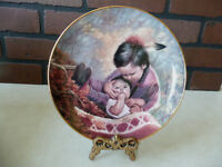 "ARTAFFECTS Perillo ""Tender Loving Care"" Collector Plate Children of the Prairie"
