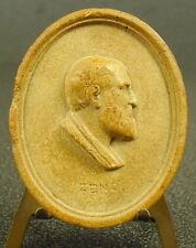 Medaille XVIII è Zéno Zénon d'Élée philosophe grec présocratique Greek medal