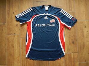 NEW YORK REVOLUTION 2006 MLS USA FOOTBALL SHIRT JERSEY  ,MENS L