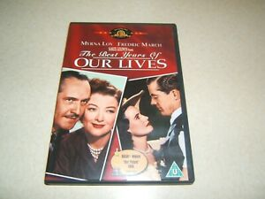 THE BEST YEARS OF OUR LIVES : FREDRIC MARCH  REGION 2 DVD