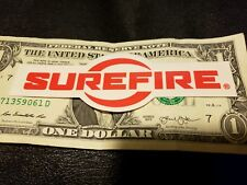 SUREFIRE Authentic Sticker