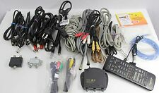 Huge Lot of Cables Wires Ac Adapters Remote Usb Power Cable Hp Sony - 36 Pieces