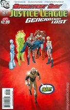 Justice League Generation Lost #21 DC Comic 2011 Kevin Maguire 1:10 Variant