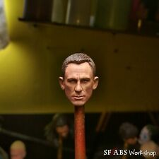 SFABS James Bond Daniel Craig 1/12 Scale Head Sculpt