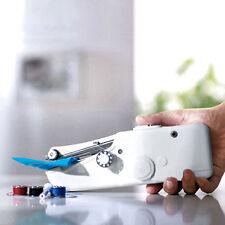 Mini Portable Home Travel Desk Sew Quick Hand-held Stitch Clothes Sewing Machine