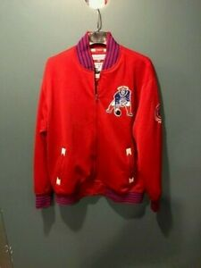 Authentic New England Patriots Mitchell and Ness Jacket - XL