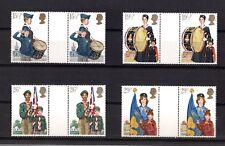 GRAN BRETAGNA : 75°anniversario Scouts  4 v. MNH** con interspazio  24.03.1982