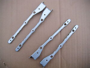 2 Pair Dell 260 460 470 620 660 Metal SSD HDD Bracket 92C3F 2ND Hard Drive Rail