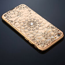 Luxury Glitter Bling Sparkling Phone Case Back Cover For Apple iPhone 7 Gold