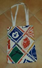 Vintage Custom 1970s NFL Tote bag old logos 16x21 Cowboys, Bills, Chargers etc