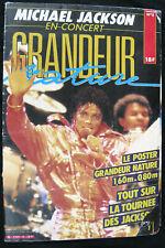 Michael Jackson GRANDEUR NATURE Life-size Poster Postermag French Magazine 1984
