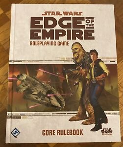Star Wars Edge of the Empire Roleplaying Game Core Rulebook - Fantasy Flight FFG