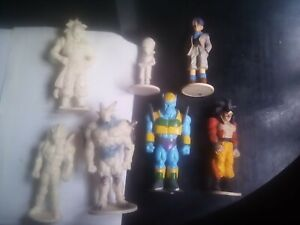 Dragon Ball Z.7 Figuras De Coleccion.15 Cm.