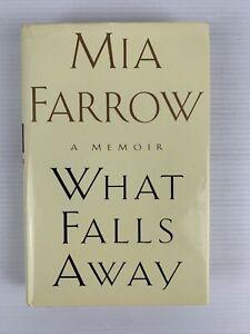 "MIA FARROW A Memoir ""What Falls Away"" HC DJ 1997 1st Edition FREE TRACKED POST"