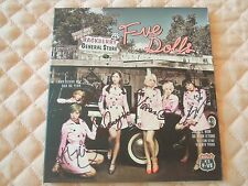 F-VE DOLLS 5dolls 1st Soulmate Digital Single Autographed PROMO CD K-POP T-ara