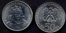 POLAND 50 Zlotych 1980 King Boleslaw I  UNC